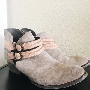 Genuine Leather Ankle Bootie